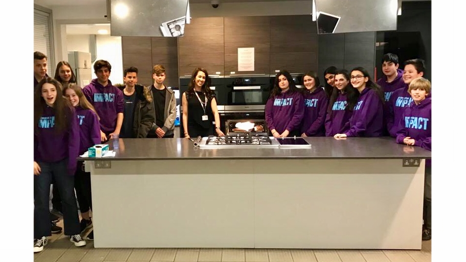 Cooking for the homeless supporting St Mungos