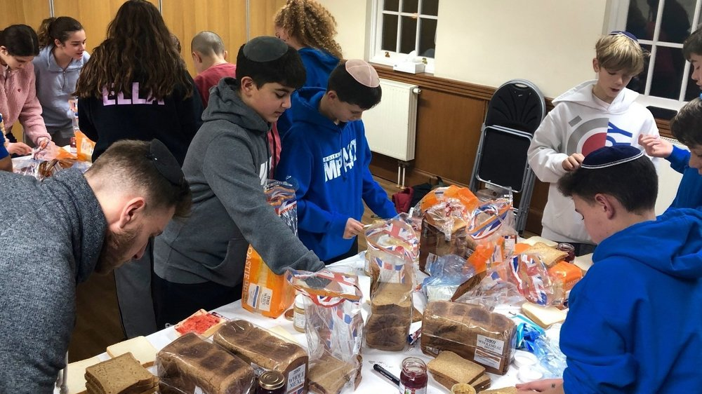 Cooking for the homeless