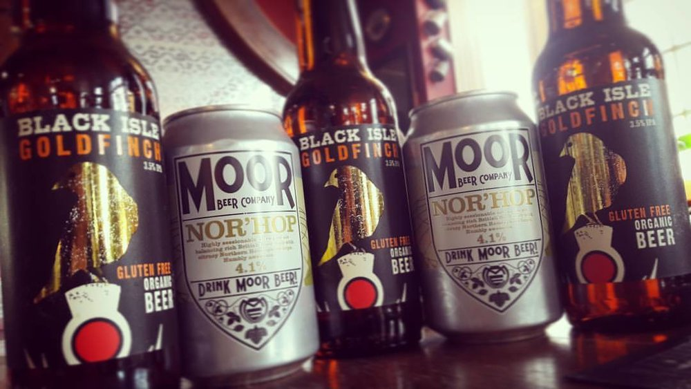 Do what you're told & drink @drinkmoorbeer We've got good news for you coeliacs, gluten free organic @blackislebrewery beers!