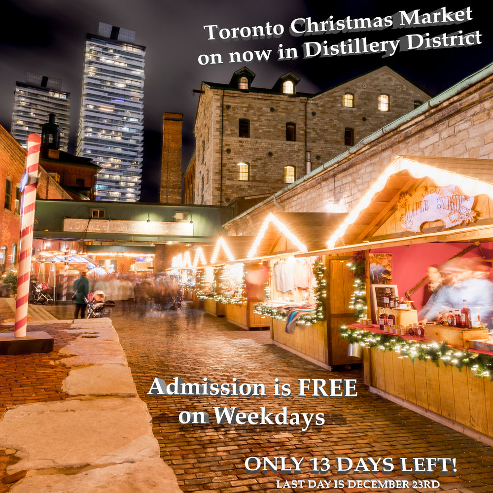 Best Things to Do - at the Toronto Christmas Market