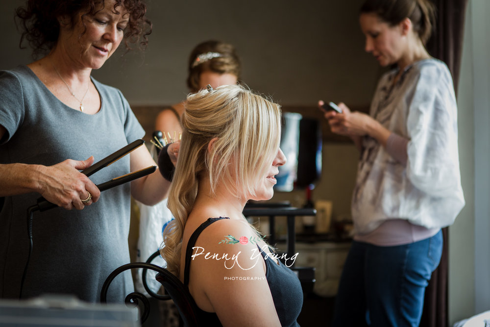 Simply Beautiful Wedding Hair- The Bell Inn Ticehurst