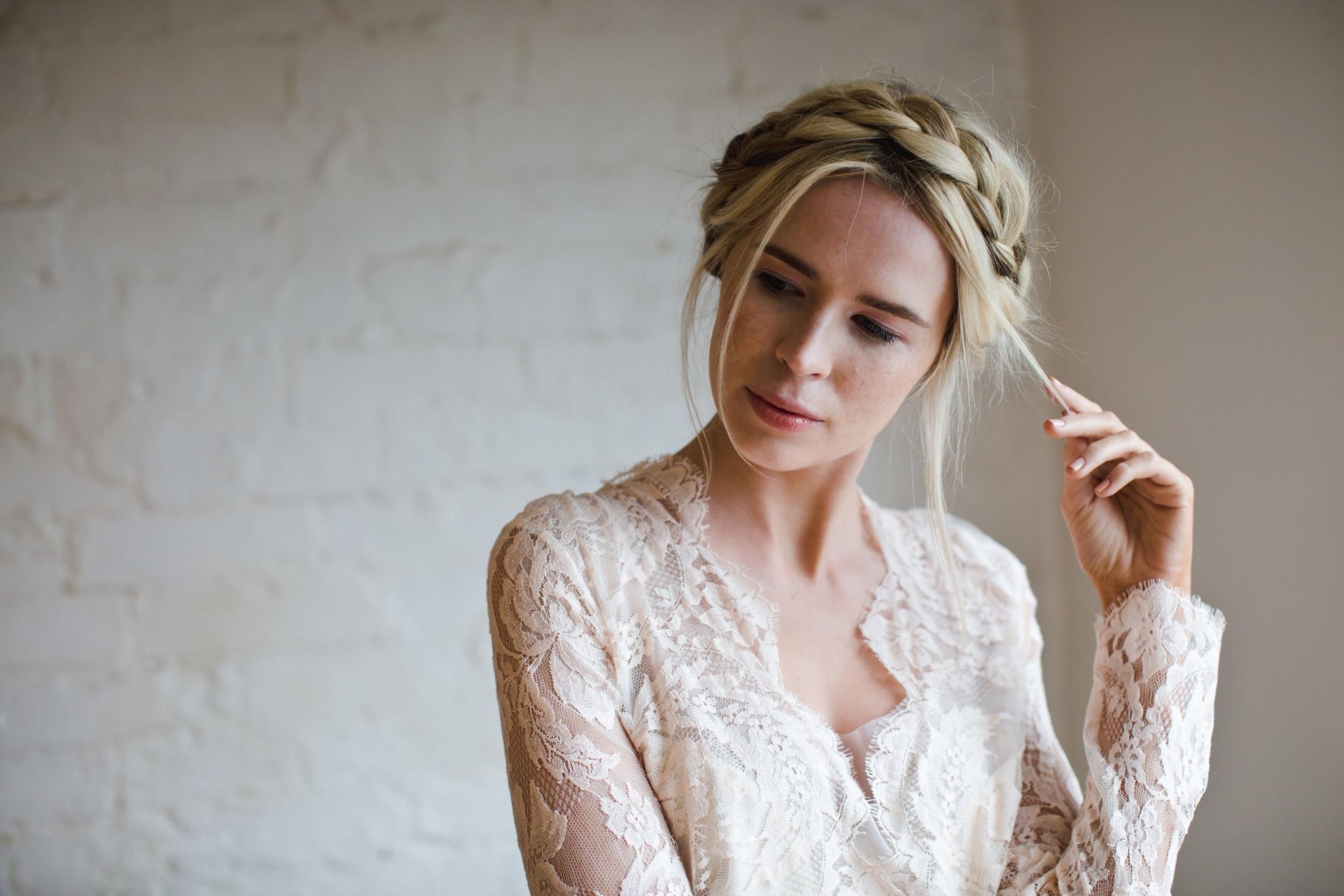 simply beautiful wedding hair | sussex & kent | bridal hair in east