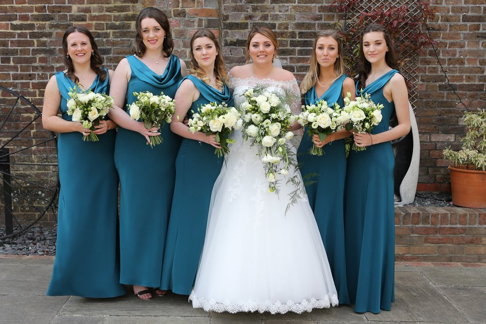 Ellie-simply-beautiful-wedding-hair-bride-bridesmaids-half-up-nape-knot