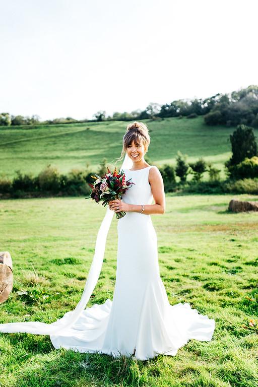 Gemma. Long Furlong Barn.West Sussex.Bride. Bridal Hair.Wedding..jpg