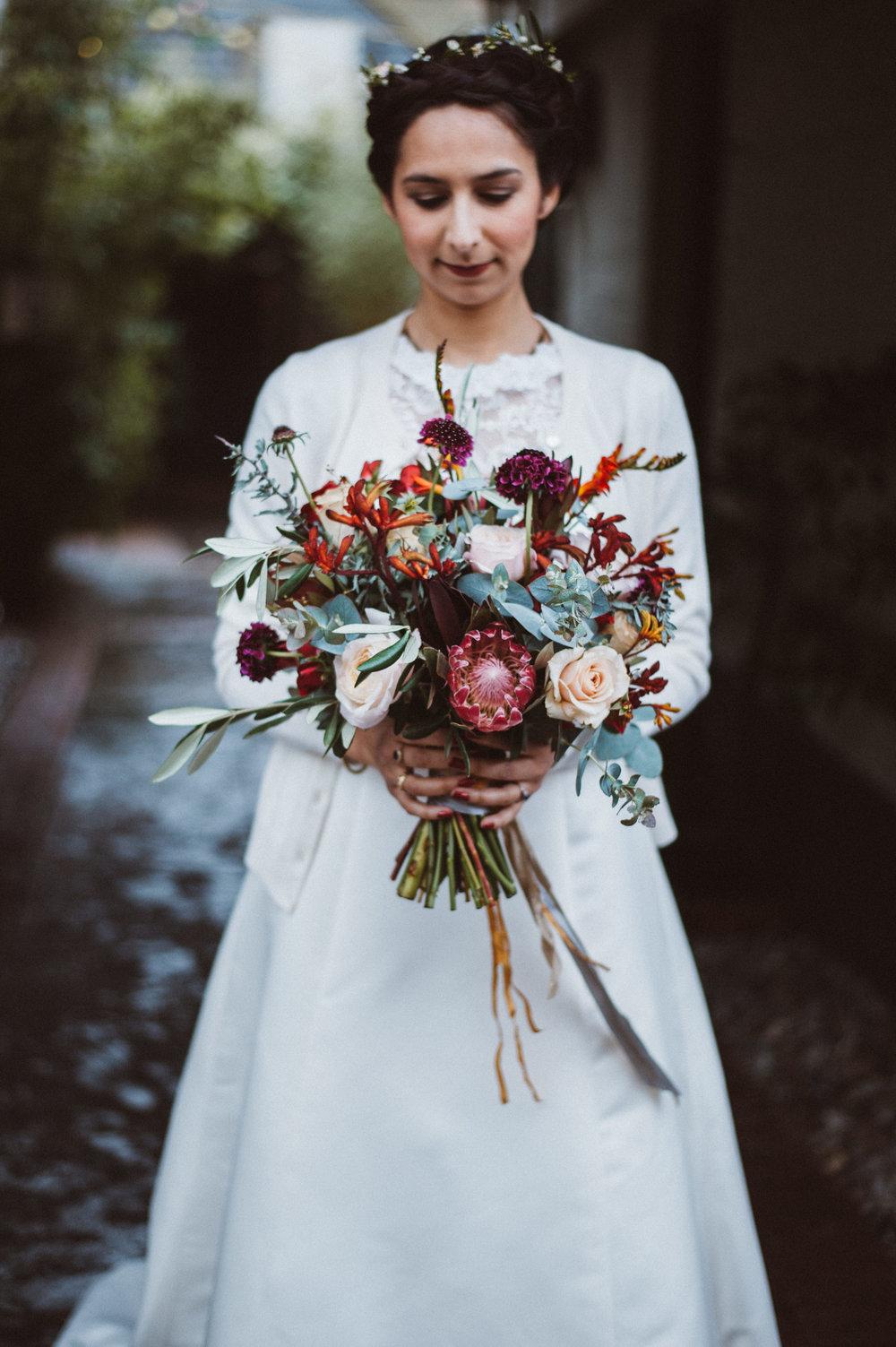 Claudia-Bridal bouquet-Bride-Wedding Hair Stylist