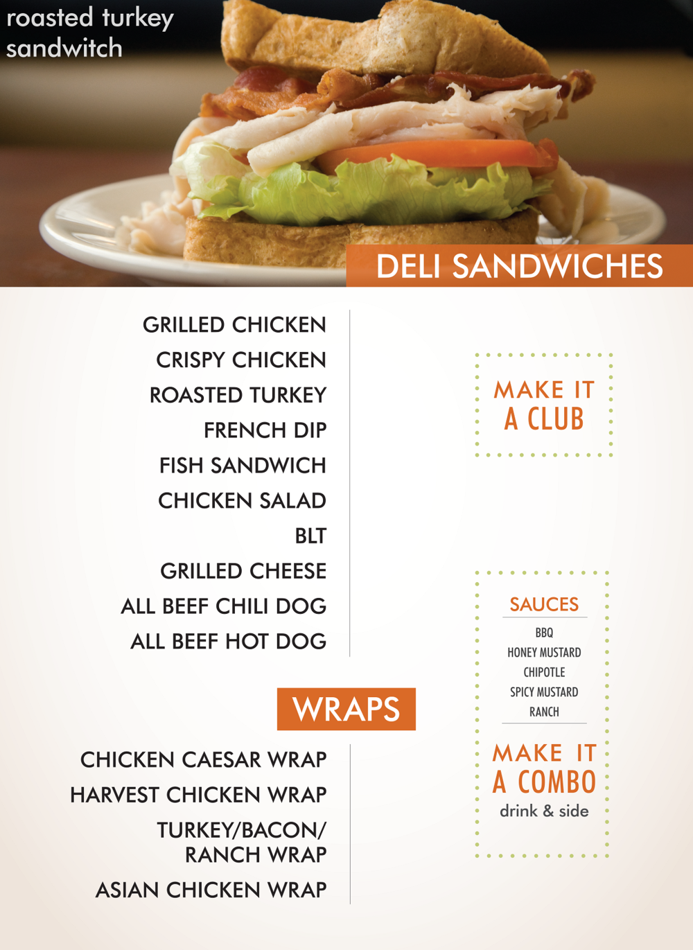 DELI SANDWITCHES