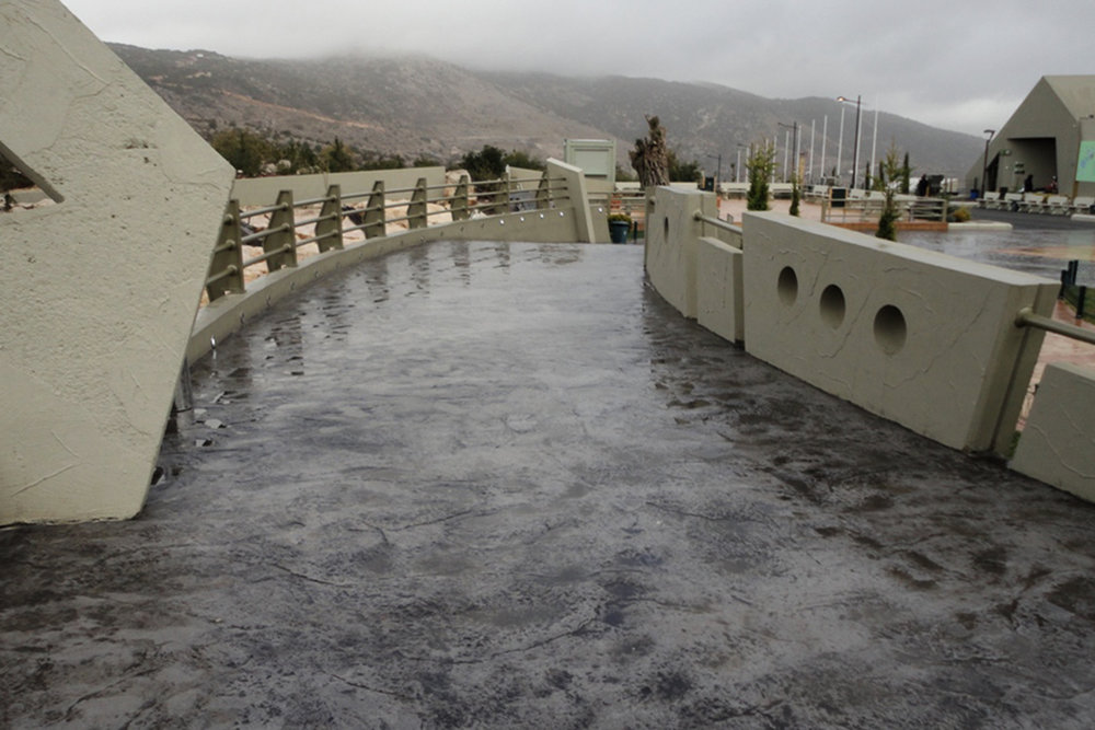 Skin Stamped Concrete