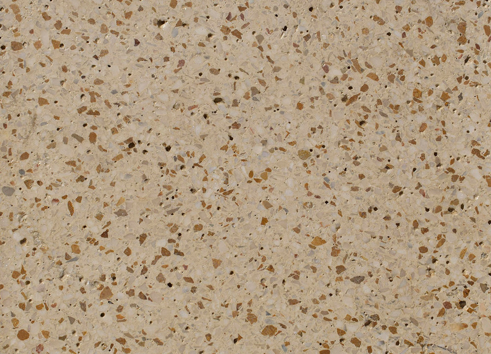 AGG POLISHED IVORY YELLOW + WHITE GRAVEL