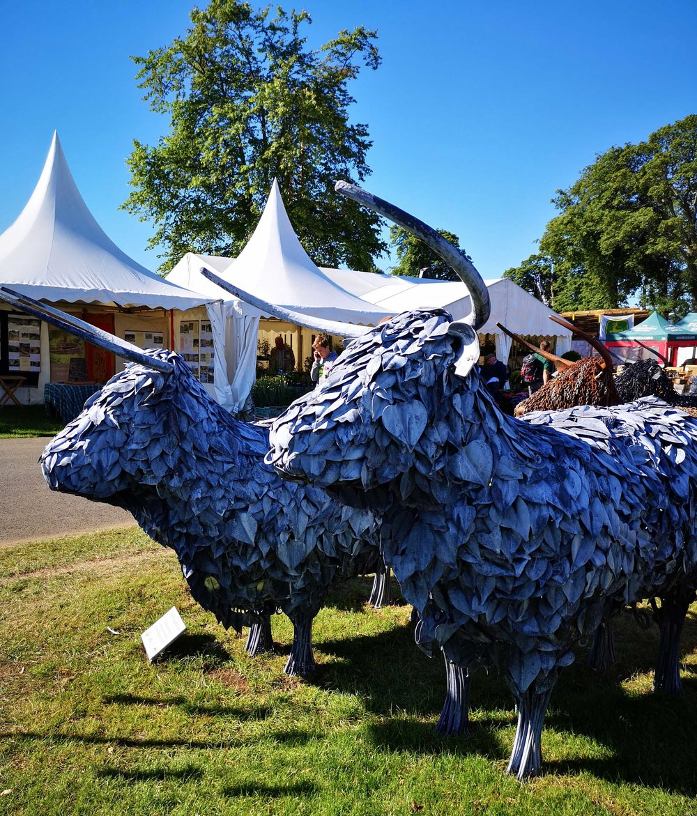 Heilan Coos in metal at the RHS 2018
