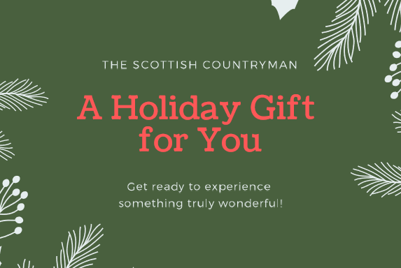 A gift voucher from The Scottish Countryman