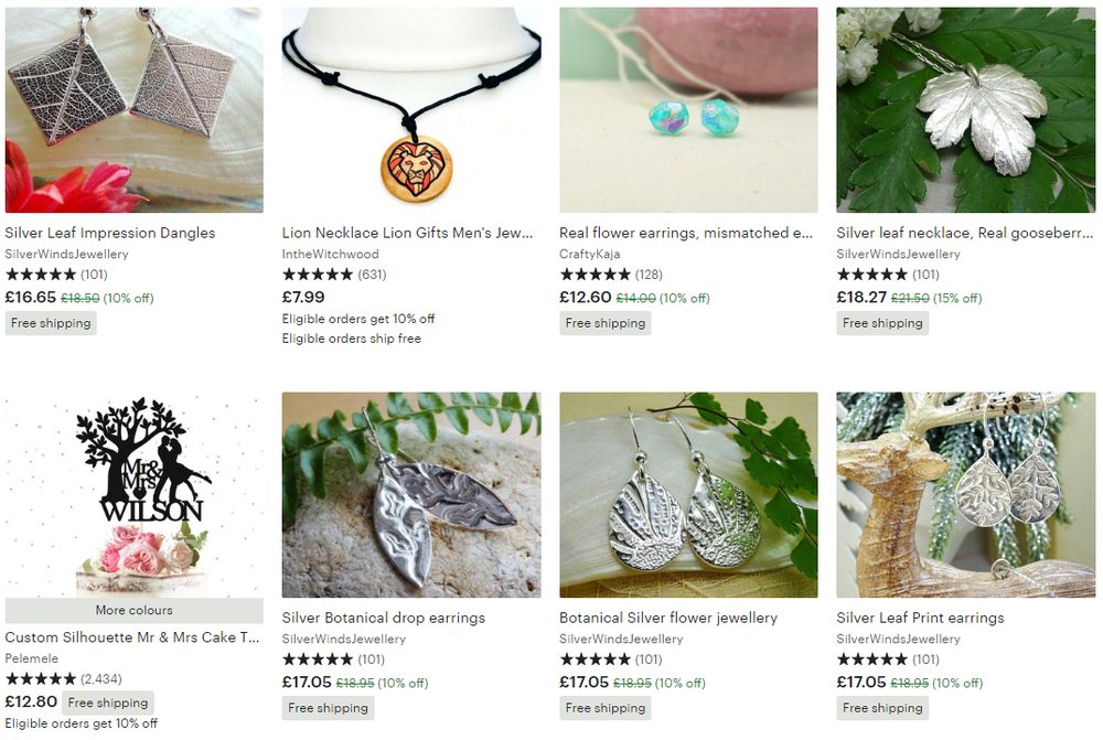 Etsy nature-themed gifts