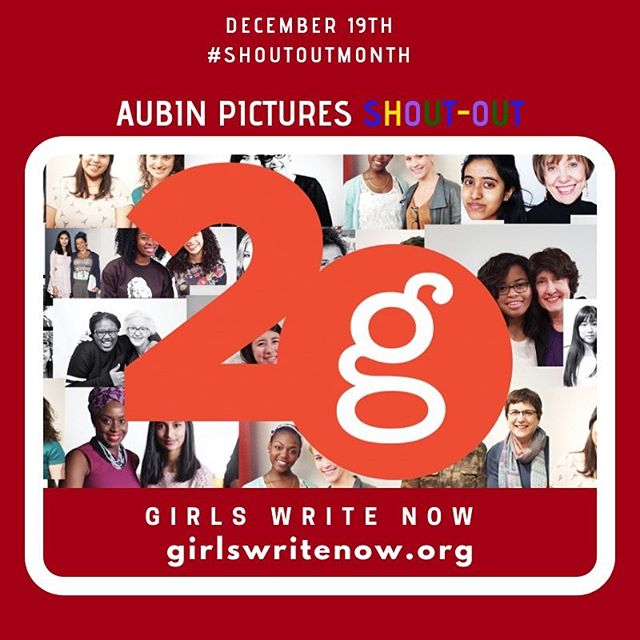""" @girlswritenow  mentors underserved high school girls from throughout New York City's five boroughs Girls Write Now — over 90% high need and 95% girls of color — who must rise above the race and income-based inequalities of the city's public school system and the nation's workforce. Through one-to-one mentoring with professional women writers and media makers, writing and technology workshops, and leadership, college prep, and professional development opportunities, we inspire women to share their craft and empower girls to find their voices and tell their stories."" #GirlsWriteNow ##Education #NYC #Empowerment ... Aubin Pictures' mission is to develop, produce and distribute cultural content that leads to social awareness and transformation. With 🗣#ShoutOutMonth🗣 we hope to inspire dialogue and foster community building around the social issues that matter most to us."