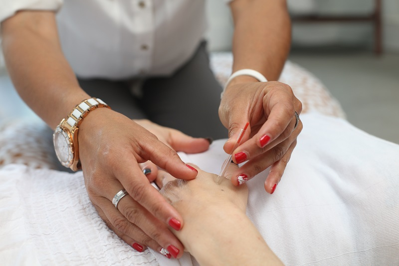 Acupuncture - Relaxes stress, increases circulation, promotes healing and reduces pain.