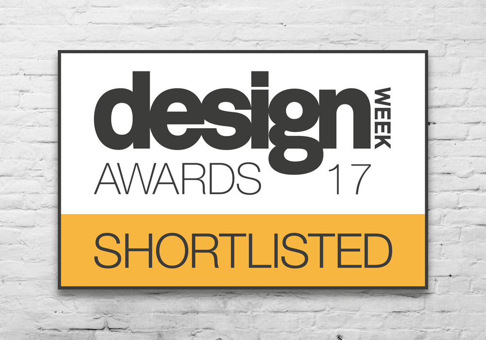 design week awards 2017 - Shortlisted; Packaging 2017