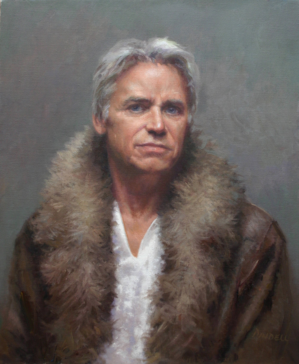 Man with a Fur Collar
