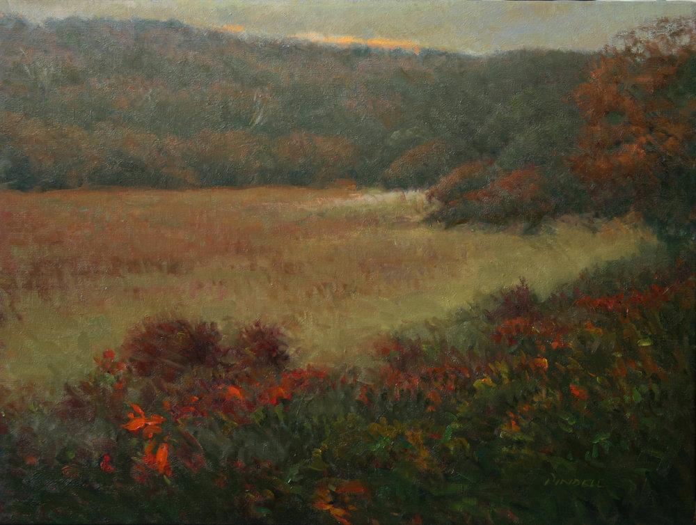 Autumn on the Moors, Nantucket