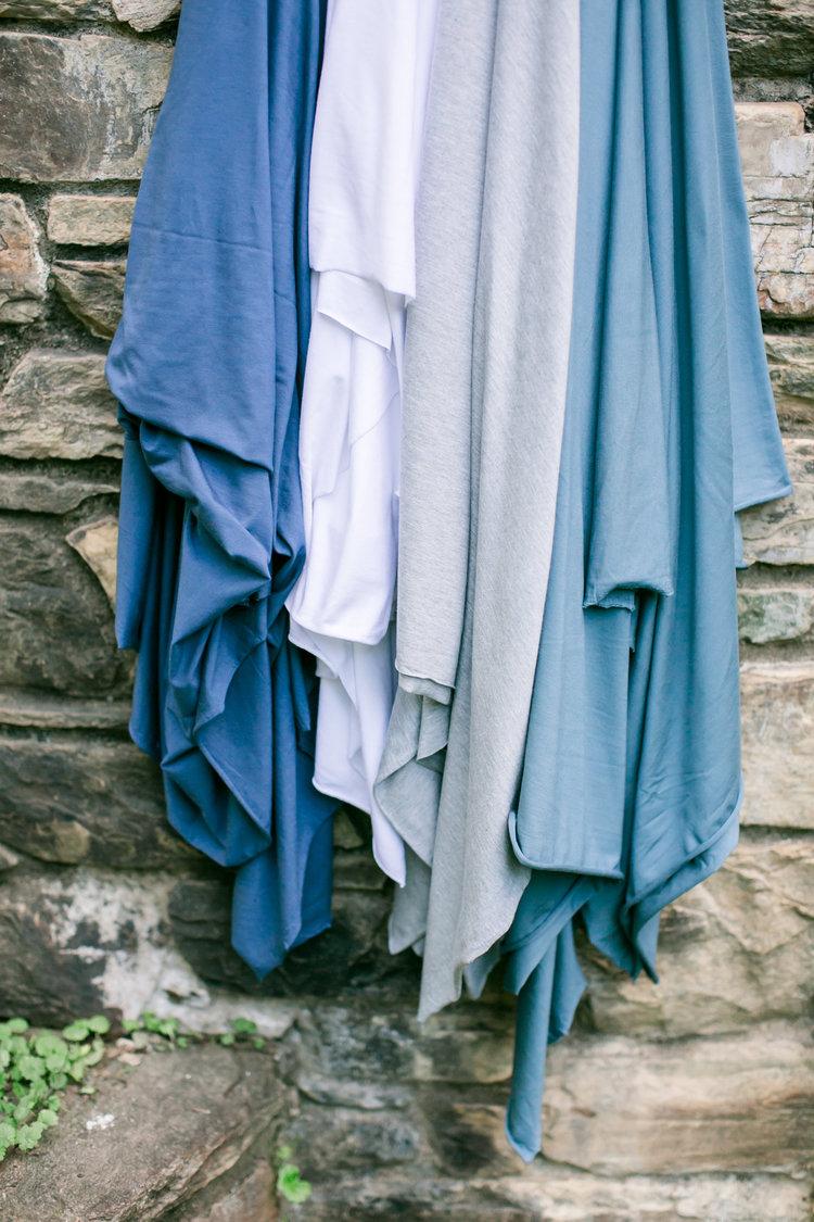 45ec9516a52 Bamboo Jersey Knit- Gray Marled- 1/2 Yard — D & H Fabrics