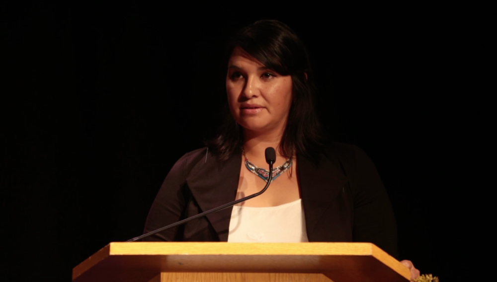 Souta Calling Last, the Founder and Executive Director of Indigenous Vision