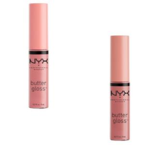 NYX Butter Gloss (Creme Brulee and Tiramisu), Target, $4.99