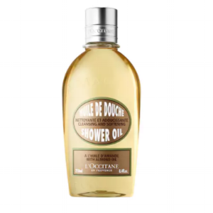 L'Occitane Cleansing Almond Shower Oil. 8.4 oz, $25