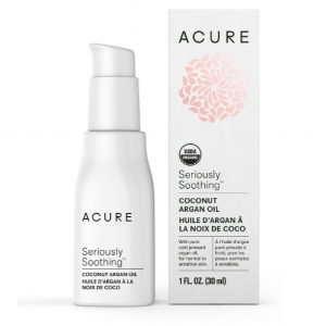 Acure Seriously Soothing Coconut Argan Oil ,  $12.99