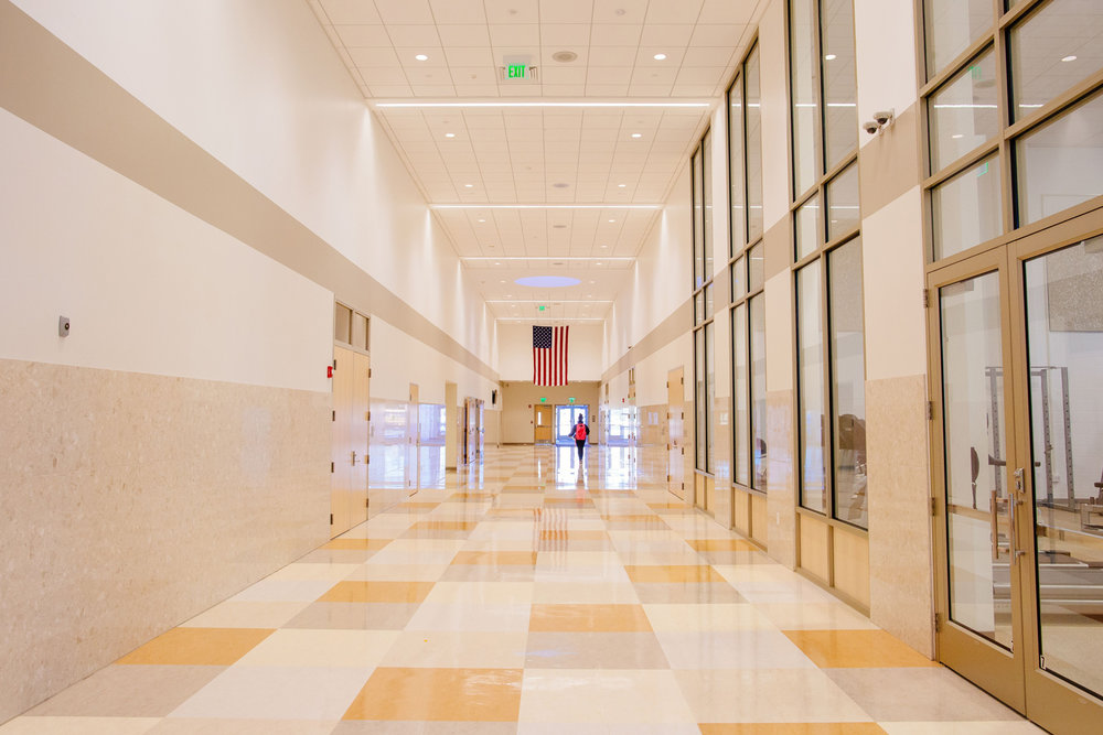 Bright, Open Hallways