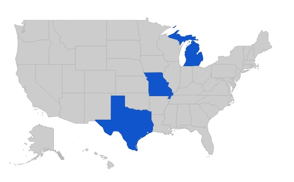 - *So far, I have completed races in 3 states.  Would love suggestions emailed to me for a great race in other states!
