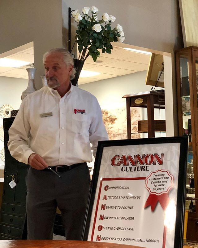 We had great morning with Michael Joe Cannon and @tjcannon2323 at #RossonCo. So many take aways from these fine businessmen in our community. A special thanks for your time and candidness with our team. #nobodybeatsacannondeal #attitude #breakfastclub