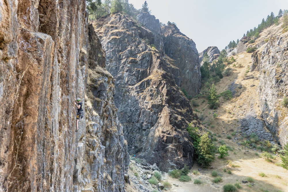 Sport Climbing at the Auburn Quarry