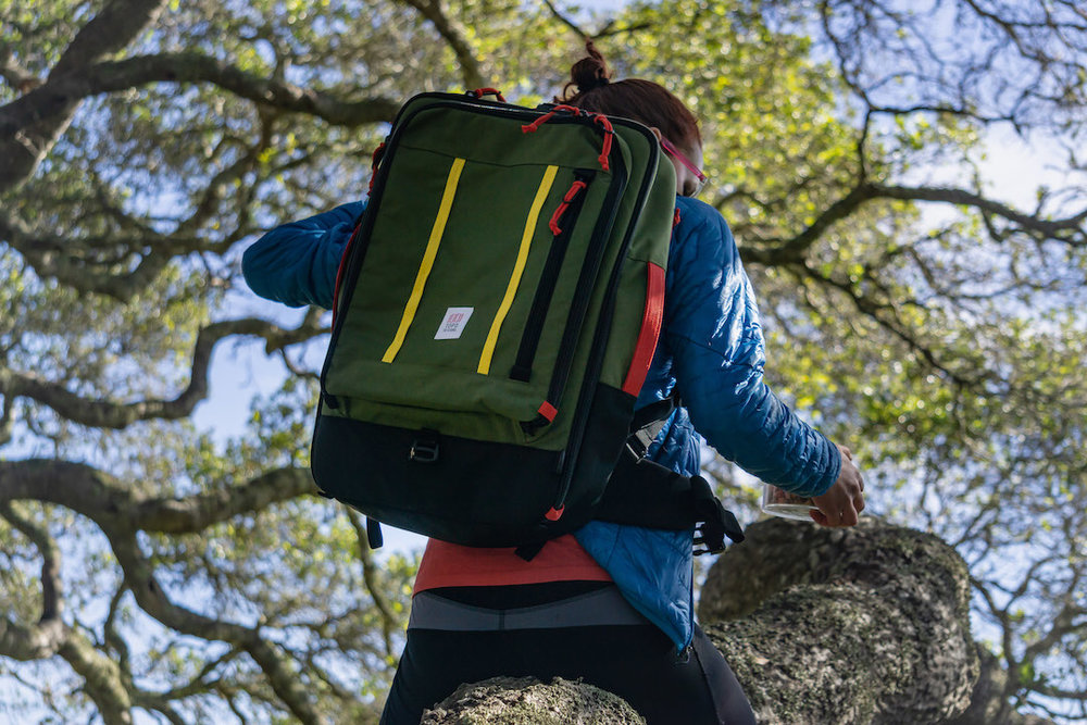 Hiking through Wilder Ranch with Topo Designs Backpack by Dalton Johnson Media