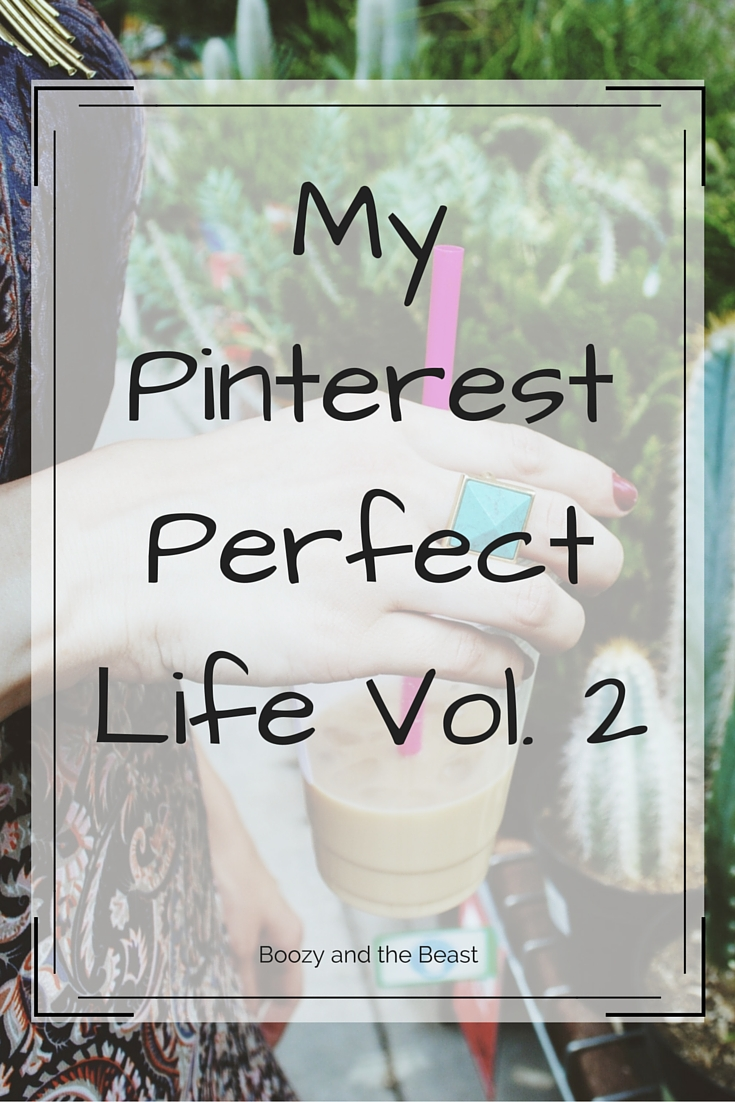 My Pinterest Perfect Life Vol 2