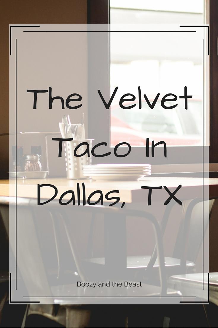 the velvet taco