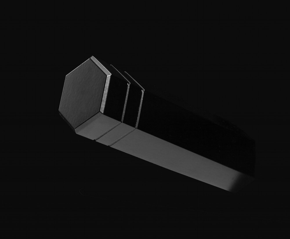 Black Hex Towel Peg.jpg