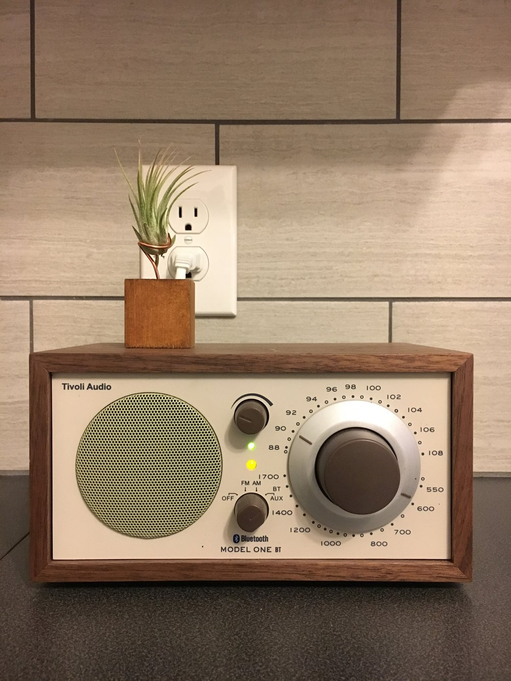 KMHD & Tiny Plants - Not a project, just an obsession. I listen early in the morning and late at night & water this tiny plant from time to time, too. Also, I'm a sustaining member at Portland's jazz radio station, Oregon Public Broadcasting, Color of Change, Southern Poverty Law Center, and Bitch Media. Keep scrolling.