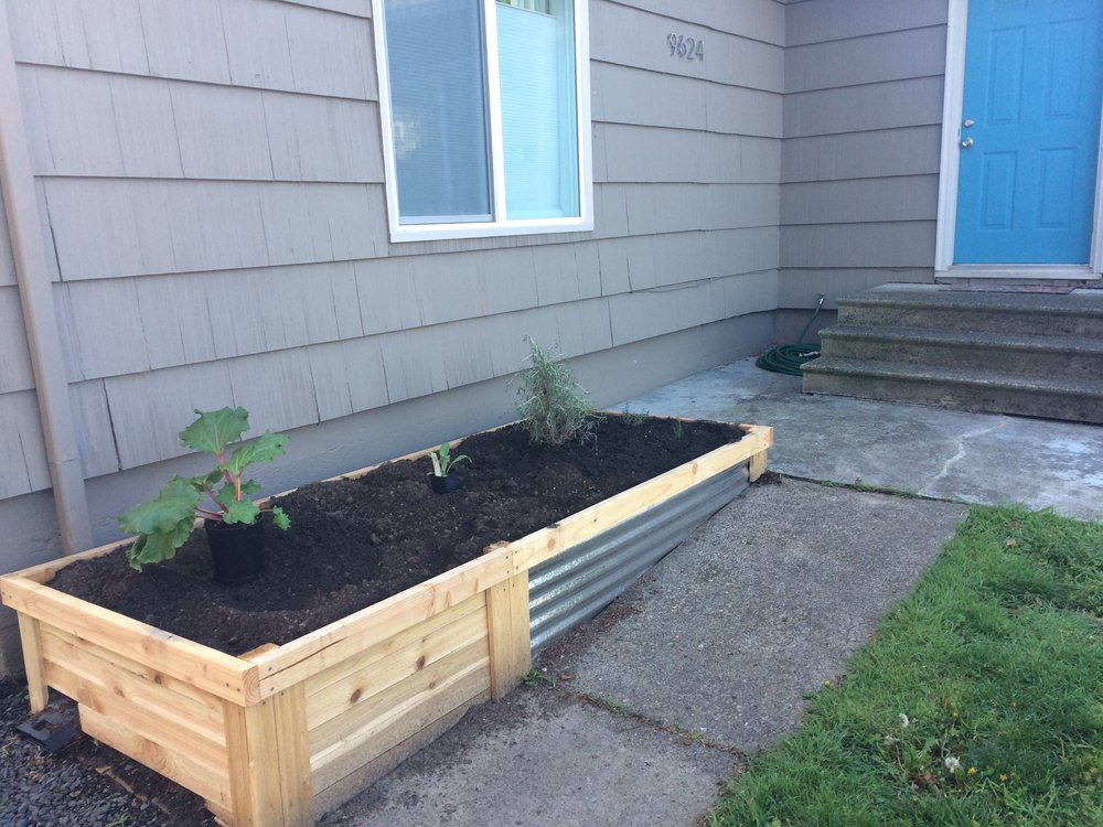 Building Tangible Things - Most of my work is extraordinarily intellectual, and it's easy to lose touch with the physical world. Building things, especially outside, like this garden bed, is an important and intentional way that I get out of my head and into the world.