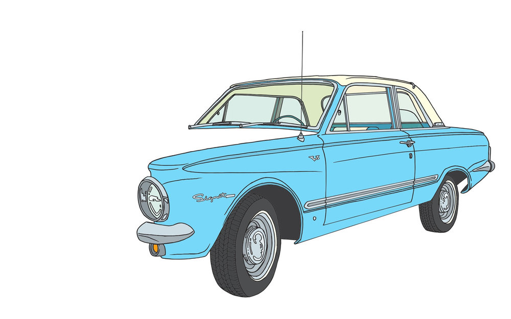 Plymouth Valiant Signet Super Sport V8.