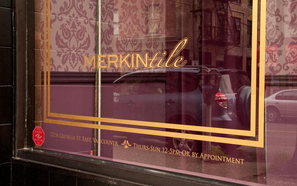 MERKINtile Window Graphic