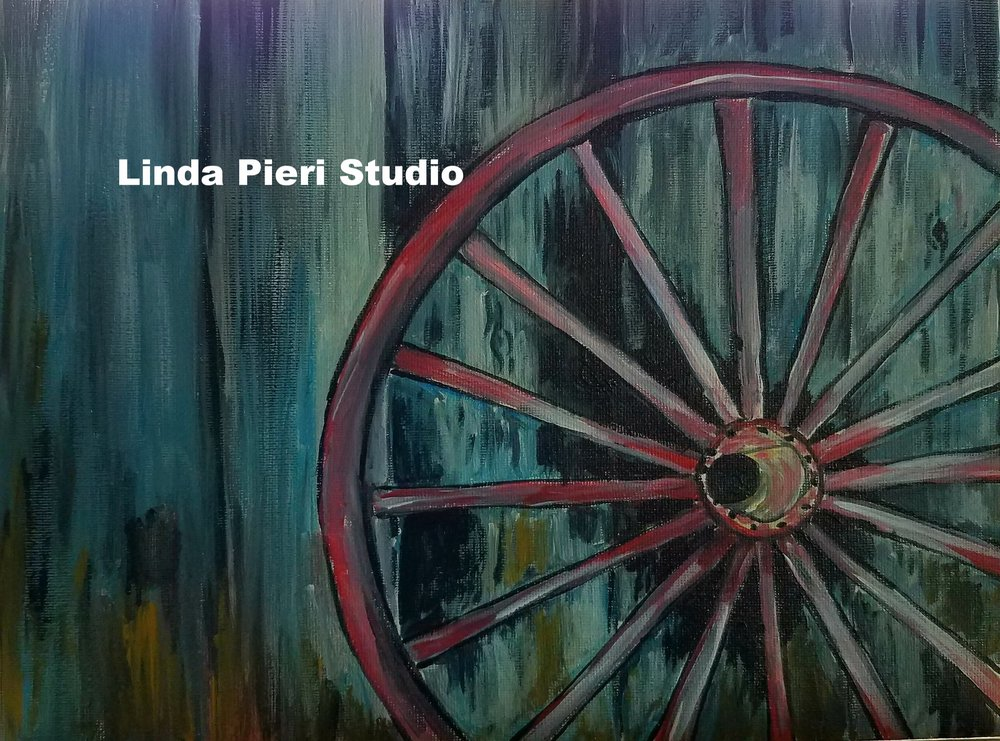 Old Wagon Wheel (level 1)