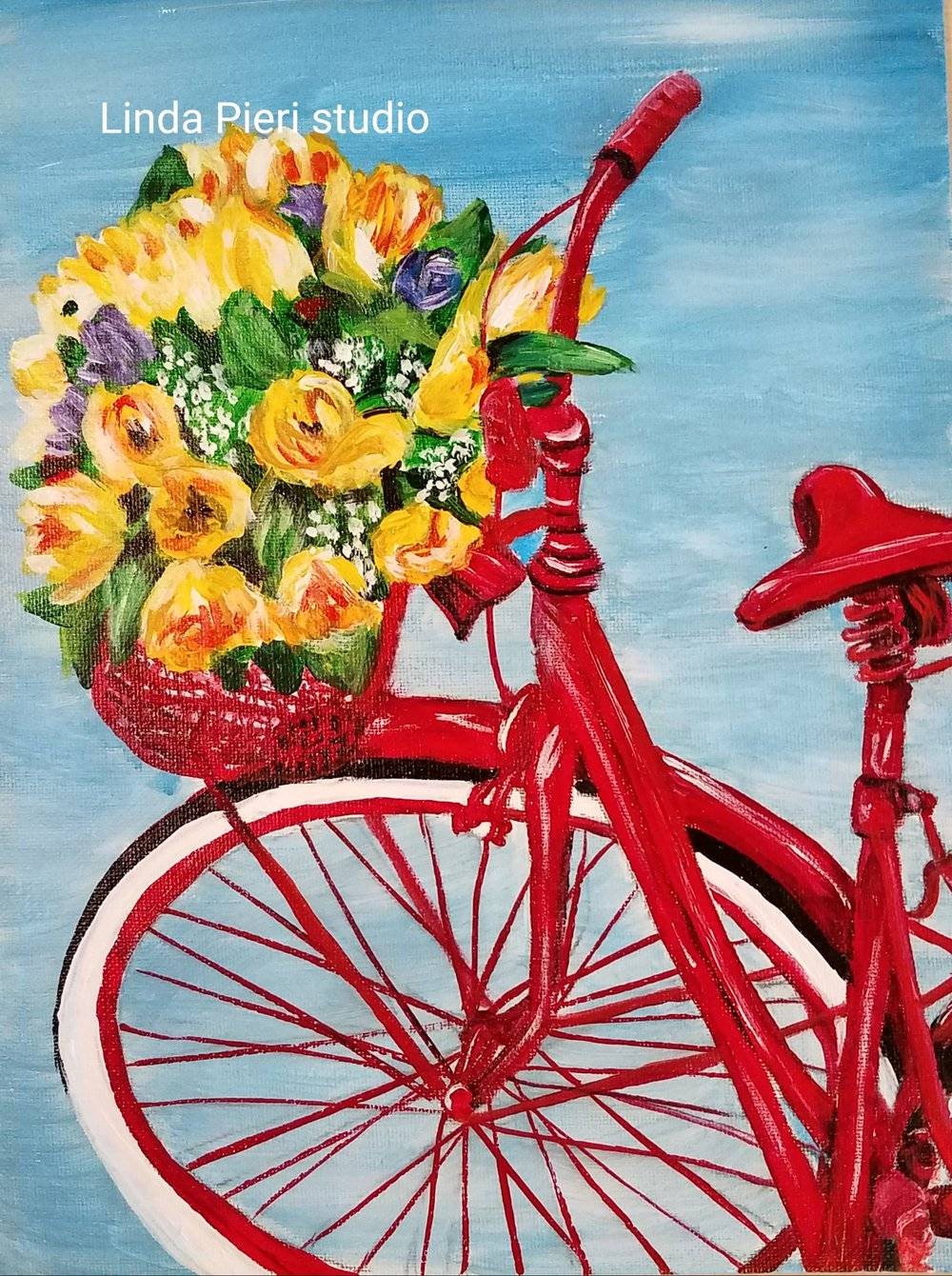 Flowers on Bicycle (L2+)