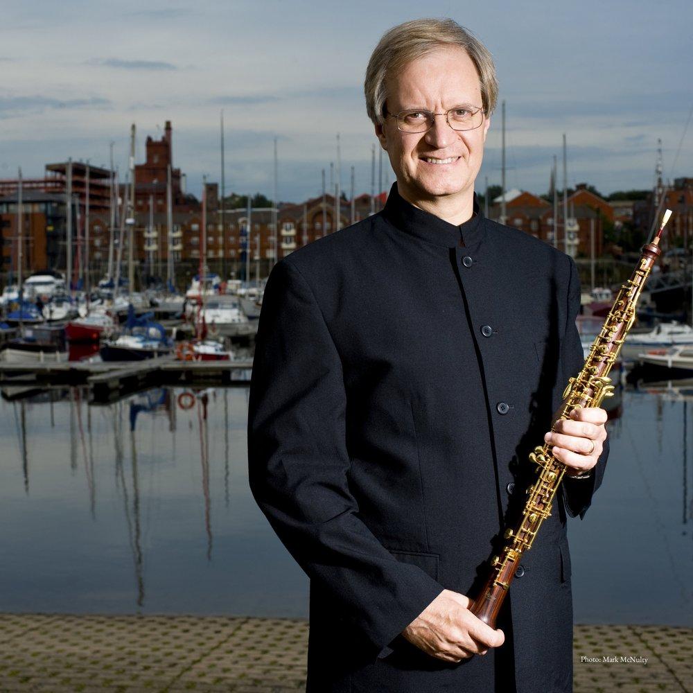 Jonathan Small  - visiting Oboe Professor&Soloist in China 2018 乔纳森·斯莫-双簧管演奏家 指挥家 中央音乐学院客座教授