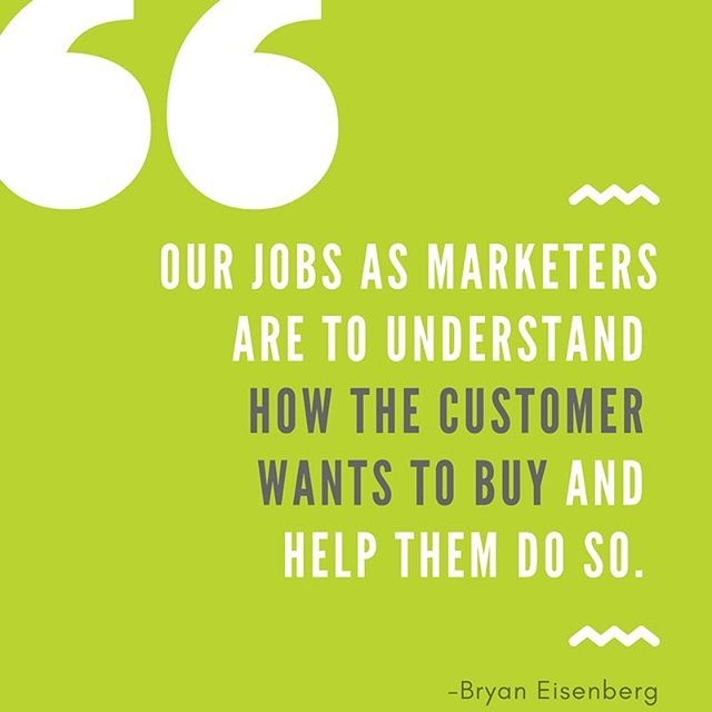 👨🏼🎨 The crux of this quote from @bryangroks is that marketing is not about what you can get from the customer but how you can help them get what they want. Assuming they want what you have, make sure it is as easy as possible for your customers to access it. People don't always necessarily buy the very best product but will often buy the ones that are the easiest to understand and to access.⠀ ⠀ 👨🏫 We say this a lot and we will keep saying it, serve your customers and your audience, take care of them and they can't help but be loyal fans.⠀ ⠀ Do you agree with this quote? ⠀ ⠀ Do you see the job of marketing differently?⠀ ⠀ ⠀ #socialmediatips #socialmediahelp #socialmediagrowth #websites #contentmarkering #media #bizdev #websitehelp #marketingtips #marketinghelp #businesstips #marketing #entrepreneur #ecommerce #smallbusiness #shoplocal #erie #eriepa #myerie #presqueisle #814 #businessowner