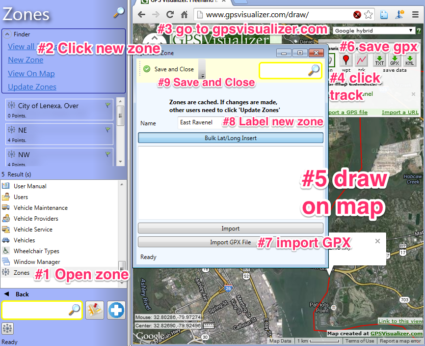 How to create a geofence from GPX — NEMT and Paratransit Software
