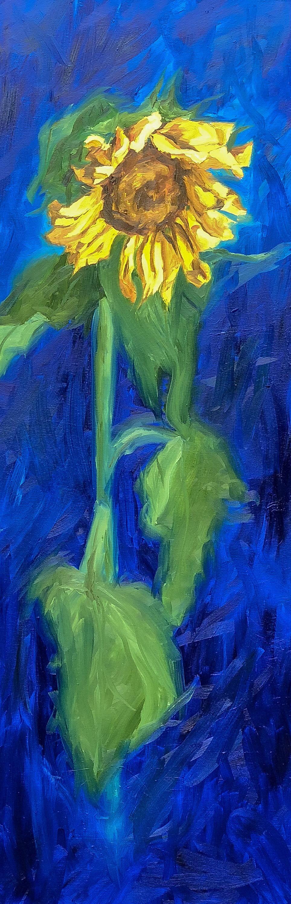 Sunday II - 12 X 36 Oil on Canvas