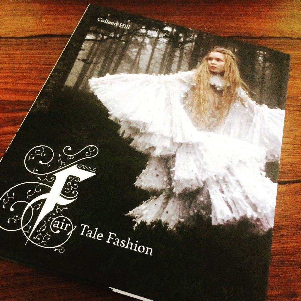 Fairy Tale Fashion exchibition catalog by Colleen Hill