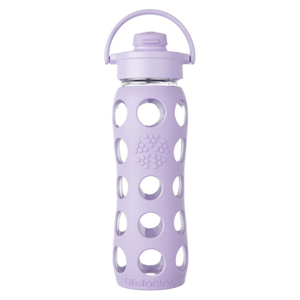 Lifefactory Water Bottles are made from high-quality glass and silicone materials in the USA and France.