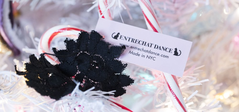 Entrechat Dance Lise Lace Hair Clips & Candy Canes. Photograph ©CAM North Photography
