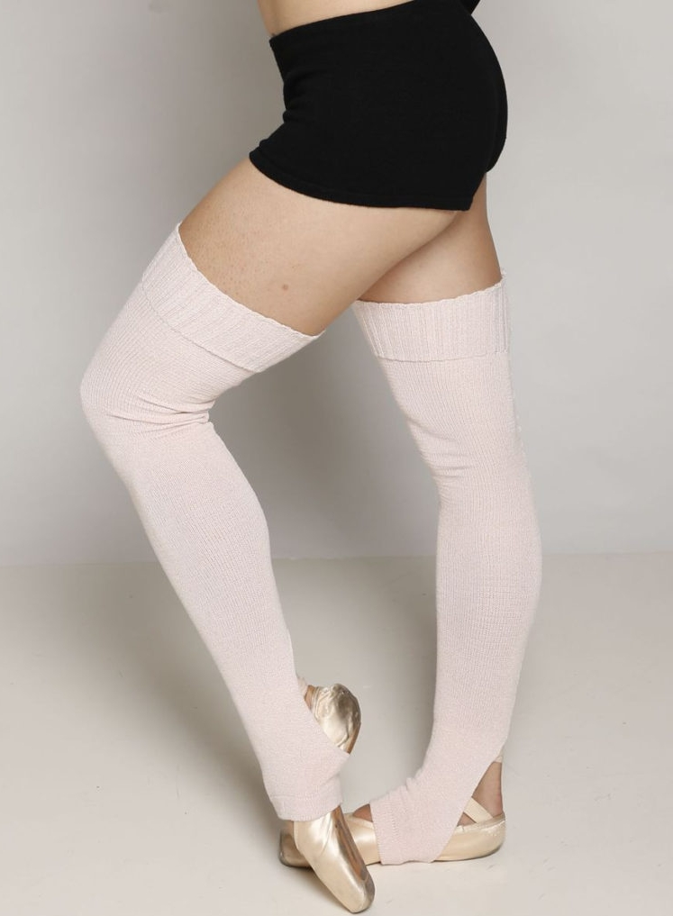 These soft and stretchy viscose legwarmers by KD New York are comfy, cozy, and animal-free