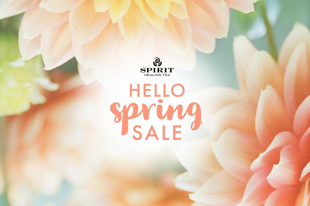 Hello Spring Sale - 30% Off