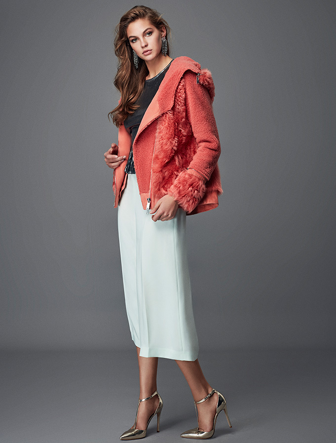 The Shearling Coat - Trendy