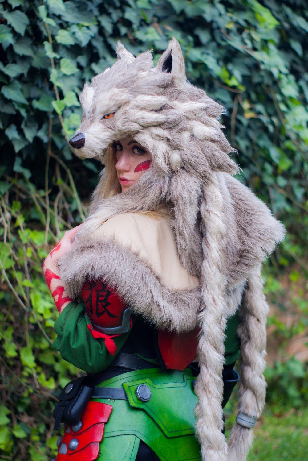 14f3310a35 Hanzo (Lone Wolf skin)- Overwatch — Tiffany Gordon Cosplay